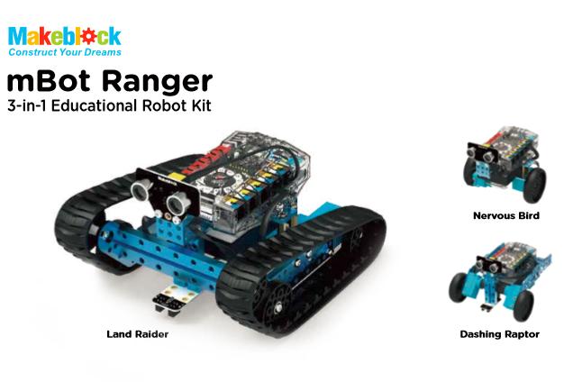 mBot Ranger – Transformable STEM Educational Robot Kit
